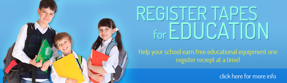 Register Tapes for Education